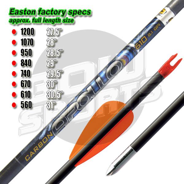 Easton Apollo - Arrows